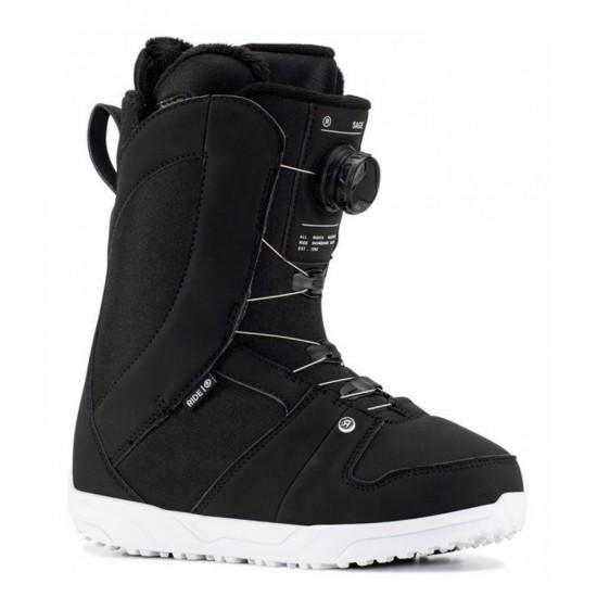 RIDE SAGE BLACK - BOOTS SNOWBOARD