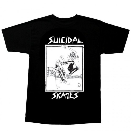 TRICOU DOGTOWN SUICIDAL SKATE - BLACK